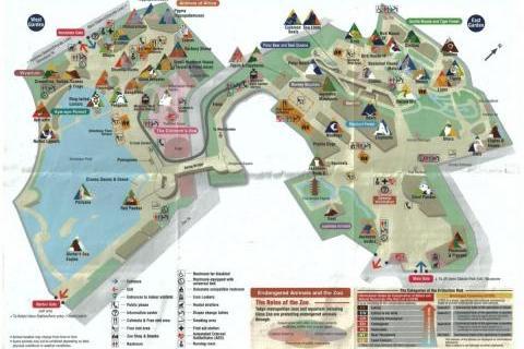map UENO zoo карта